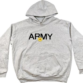 Army Hoodie Embroidered