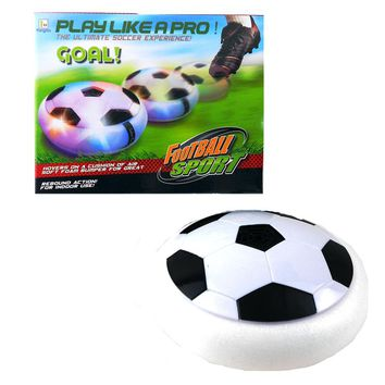 Creative light-up toys Bright light Suspension football Electric soccer kids boy indoor toy Good sprot ball Air Power Soccer