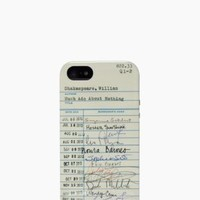 library card resin iphone 5 case - kate spade new york