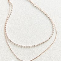 Stevie Delicate Double Necklace | Urban Outfitters
