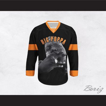 Big Poppa B.I.G. 21 Black Hockey Jersey