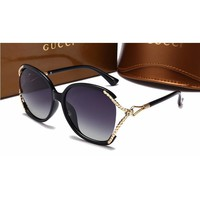 Gucci Women Casual Sun Shades Eyeglasses Glasses Sunglasses-23