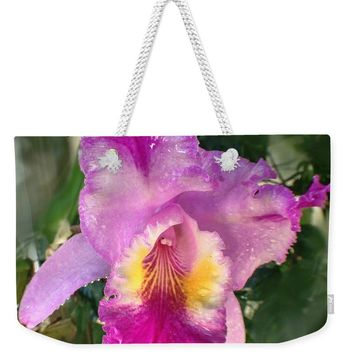 Pretty Pink Orchid - Weekender Tote Bag