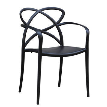 Script Dining Chair, Black