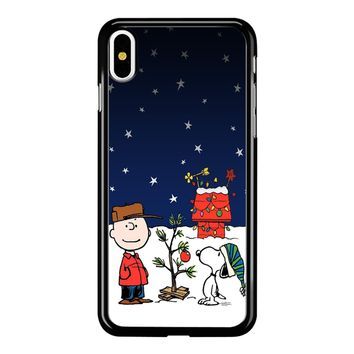 Charlie Brown Christmas Peanuts 001 iPhone X Case
