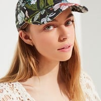 Printed Canvas Baseball Hat | Urban Outfitters
