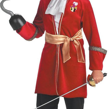 peter pan disney captain hook toddler / child costume - (4/6)