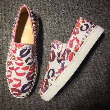 DCCK2 Cl Christian Louboutin Flat Style #754