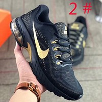 NIKE Air Vapor max men fashion new hook print mesh running sports air cushion shoes