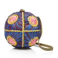 Saiu Small Raffia Shoulder Bag | Moda Operandi