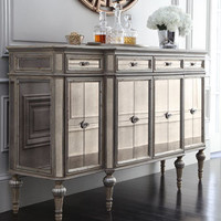 """Bethany"" Mirrored Console - Horchow"