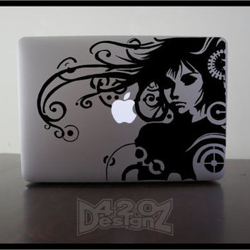 Techno  Macbook Air Macbook Pro  Macbook decals by 420DesignZ