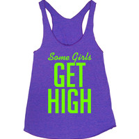 Some Girls Get High — SGGH Purple Racerback