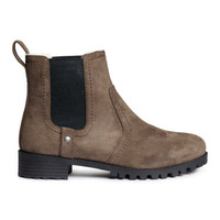 H&M Lined Chelsea Boots $49.99
