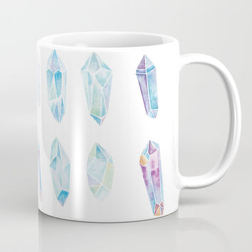 Watercolor Gemstones Mug by cadinera
