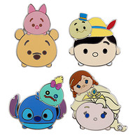 Disney ''Tsum Tsum'' Pin Trading Booster Set | Disney Store