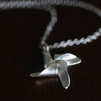 Pinwheel Necklace by janiecox on Etsy