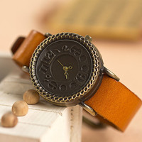 Vintage Leather Watch (WAT0055)