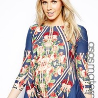 ASOS Maternity Top with Floral Print