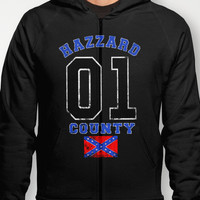 The Duke's a Hazzard! Hoody by John Medbury (LAZY J Studios) | Society6