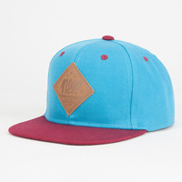 Neff All Day Boys Snapback Hat Teal Blue One Size For Women 26808524601
