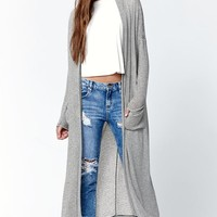 Billabong Long Way Home Maxi Cardigan - Womens Sweater - Black