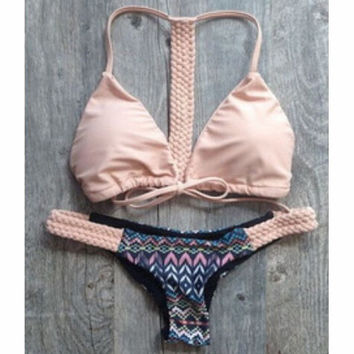 FASHION GEOMETRIC PATTERNS BIKINI
