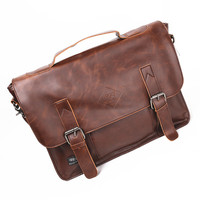 Bags Korean Tote Bag Simple Design Men Vintage Messenger Bags [6542486531]
