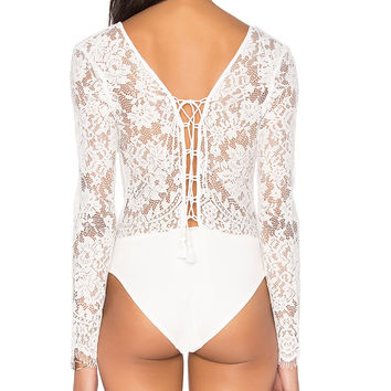 Caribbean Bodysuit by The Jetset Diaries