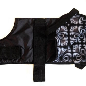 Winter Dog Coat Waterproof Adjustable Customizable
