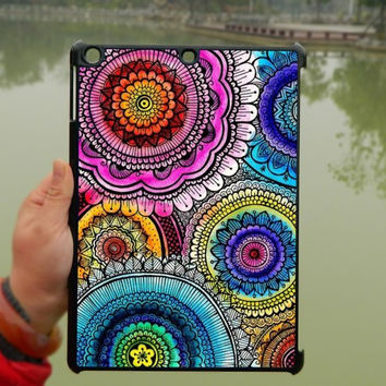 Colored Mandala Pattern Art iPad Case,iPad mini Case,iPad Air Case,iPad 3 Case,iPad 4 Case,ipad case,ipad cover, ipad mini cover ipad air,iPad 2/3/4-180