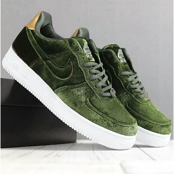 Nike air force 1 Men Women Trending Fashion Casual Running Sport Casual Shoes Sneakers Black G-SSRS-CJZX