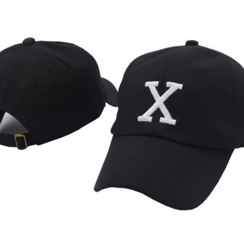 Malcom X Embroidered Adjustable Cotton Baseball Golf Sports Cap Hat