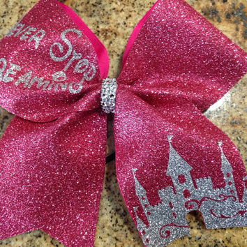 Cheer Bow- Never Stop Dreaming Orlando Cheer Events Summit, Worlds, Nationals