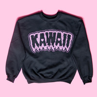 Drippy kawaii sweater / jumper