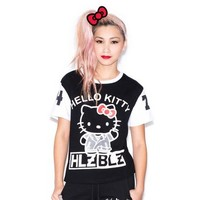 Hellz Bellz x Hello Kitty Tee: Logo