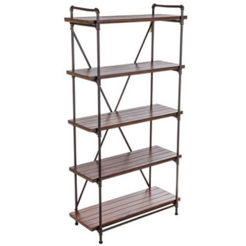 Rust Brown Pipe Baker's Rack | Hobby Lobby | 1553080