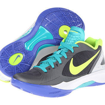 Nike Volley Zoom Hyperspike Cool Grey/Pure Platinum/Sport Turquoise/Volt - Zappos.com Free Shipping BOTH Ways