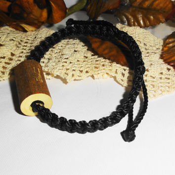 Bracelet for men, Natural bracelet, Rustic ornament, Wood decor, Wooden bracelet, Gifts jewelry, Statement jewelry, Handmade and unique gift