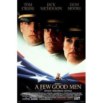 A Few Good Men Movie poster Metal Sign Wall Art 8in x 12in