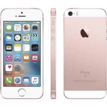 Apple - iPhone SE 64GB - Rose Gold (Sprint)
