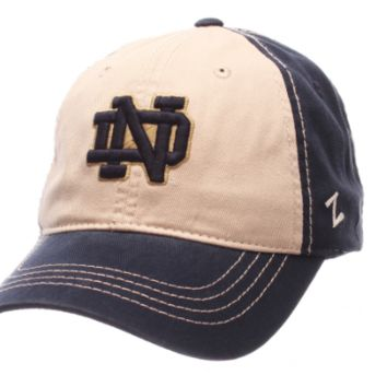 Notre Dame Fighting Irish Sigma Adjustable Hat By Zephyr
