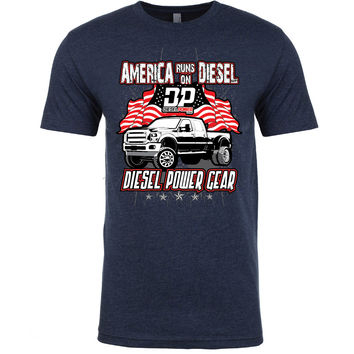 America Runs on Diesel Flags
