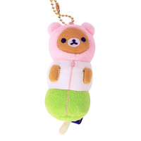 Rilakkuma 3 Color Dango Ball Chain Mascot Plush