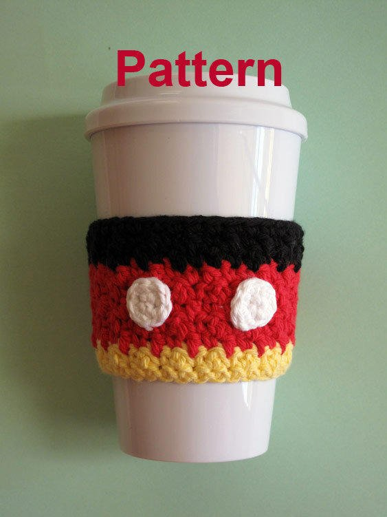 Pdf Pattern Crochet Mickey Mouse Cozy From The Enchanted
