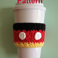 PDF Pattern: Crochet Mickey Mouse Cozy