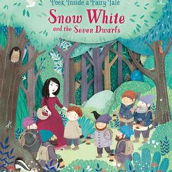 Usborne Books & More. Peek Inside a Fairy Tale: Snow White and the Seven Dwarfs
