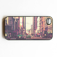 Iphone Case Vintage Pink SF San Franicso by SSCphotographycases