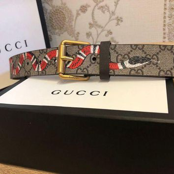 onetow One-nice? NEW GUCCI SNAKE BELT AUTH