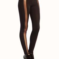 mesh-inset-leggings BLACK - GoJane.com